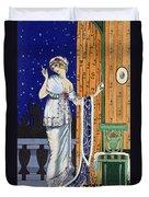 Evening Wear From Costume Parisien Duvet Cover
