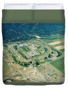 Ever-expanding Driggs, Idaho. Teton Duvet Cover