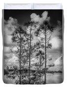 Everglades 0336bw Duvet Cover