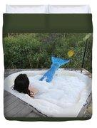 Everglades City Florida Mermaid 017 Duvet Cover