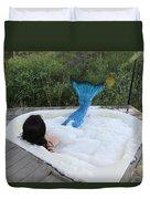 Everglades City Florida Mermaid 018 Duvet Cover