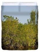 Everglades'  Egrets Duvet Cover