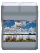 Everglades Lake 6853 Duvet Cover