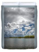 Everglades Lake 6919 Duvet Cover by Rudy Umans