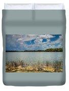 Everglades Lake 6930 Duvet Cover by Rudy Umans