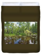 Everglades Lake Duvet Cover
