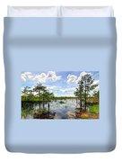 Everglades Landscape 8 Duvet Cover by Rudy Umans