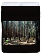 Evergreen Forest Duvet Cover