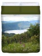 Evergreen Overlook Duvet Cover