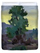 Evergreen Reflections Duvet Cover