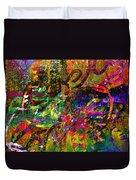 Evermore Graffiti Duvet Cover