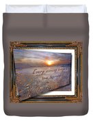 Every Morning Brings A New Beginning II Duvet Cover
