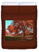 Every Year I Miss Autumn After It Is Over Duvet Cover
