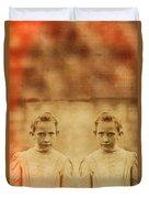Evil Twins Duvet Cover