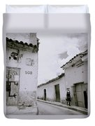 The Life Of Cuzco Duvet Cover