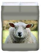 Ewe's Just Fluffy Duvet Cover