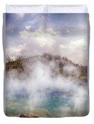 Excelsior Geyser Duvet Cover