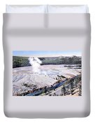 Excelsior Geyser, Yellowstone Np, 20th Duvet Cover