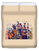 Execution Of Charles I, 1649 Duvet Cover