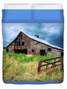 Exit 166 Barn Duvet Cover