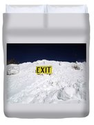 Exit Duvet Cover by Fiona Kennard