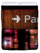Exit Park Duvet Cover