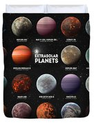 Exoplanets Duvet Cover