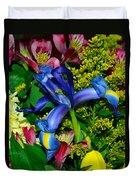 Exotic Blue Duvet Cover