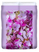 Exotic Butterfly On Hydrangea Duvet Cover