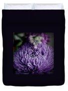 Exotic Purple Flower Two Duvet Cover