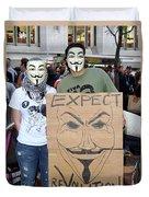 Expect Revolution Duvet Cover