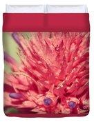 Exploding Pink Flower Duvet Cover