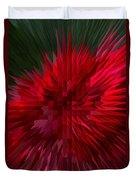 Exploding Rose Duvet Cover