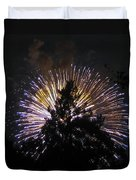 Exploding Tree Duvet Cover