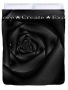 Explore Create Express Duvet Cover