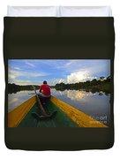 Exploring Amazonia Duvet Cover