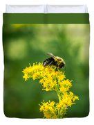 Exploring Goldenrod 2 Duvet Cover