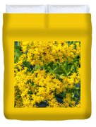 Exploring Goldenrod 6 Duvet Cover