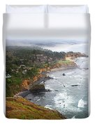 Exploring The Oregon Coast Duvet Cover