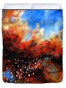 Explosion In The Sky Duvet Cover