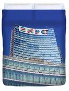 Expo 2015 Sign Duvet Cover