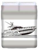 Express Sport Yacht Duvet Cover by Jack Pumphrey