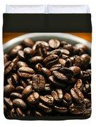 Expresso Beans Duvet Cover