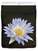 Exquisite Lavender Waterlily Duvet Cover