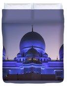 Exterior View Of Sheikh Zayed Grand Duvet Cover