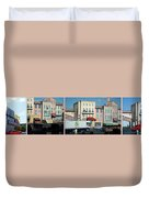 Extreme Stunt Show Walt Disney World 4 Panel Composite Duvet Cover