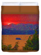 Extreme Sunset Duvet Cover