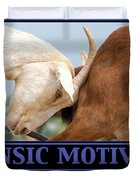 Extrinsic Motivation De-motivational Poster Duvet Cover