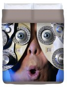 Eye Exam Duvet Cover
