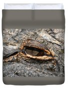 Eye Of The Gator Duvet Cover
